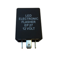 5-pin LED Flasher Relay EP27 for Domestic Cars (JEEP Wrangler, Ford, Dodge, Chrysler, Pontiac)