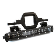 Universal Heavy Duty Tow Hitch Bracket - includes 72W slim dual row LED light bar