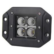"""12W 3""""x3"""" 4pcs CREE LED Cube Flush Mount - 1pc"""
