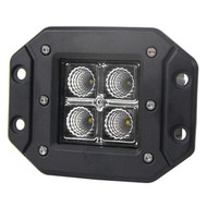 "12W 3""x3"" 4pcs CREE LED Cube Flush Mount - 1pc"