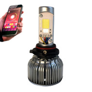 9005 (HB3) M1 6000lm RGB BLUETOOTH LED kit w/CANBUS