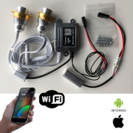 Wi-Fi BMW E90 RGBW Smartphone Controlled Angel Eye LED bulbs