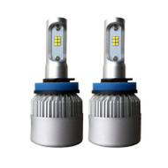 H11 (H8/H9) CANBUS S2 2-sided 16000lm CSP LED kit, cooling fan, built-in LED driver - NEW ARRIVAL!