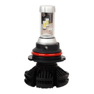 9004 Hi/Lo X3 6000lm 2nd Gen. PHILIPS ZES LED Headlight kit, fanless with built-in LED driver