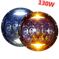 "7"" 130W Jeep LED headlight set"