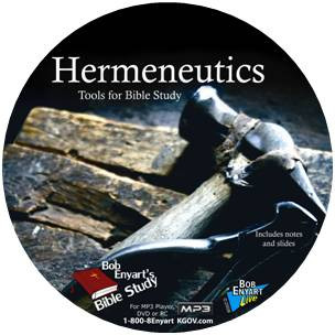BEL Hermeneutics seminar CD