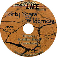 Forty Years in the Wilderness: Extended Edition DVD