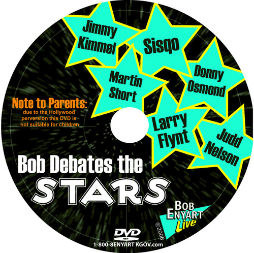 Bob debates the stars, on ABC's Politically Correct with Bill Maher