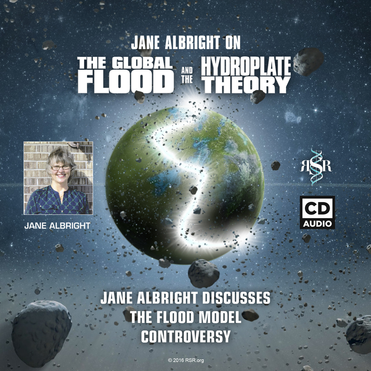 Cover of the Jane Albright Audio Series on the Flood Model Controversy