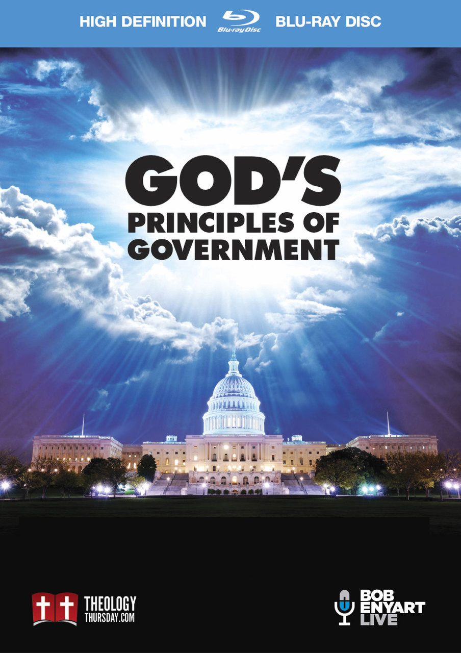 Cover of BEL's God's Principles of Government case (2 DVDs or Blu-rays)