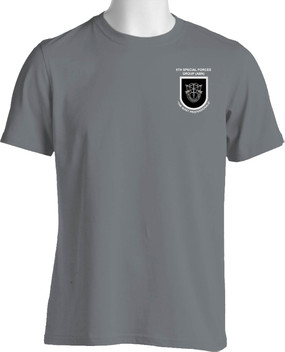 5th Special Forces Group Moisture Wick Shirt  Version 1
