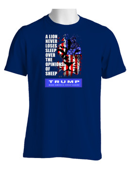 Trump -Make America Great Cotton Shirt