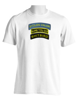 Moisture Wick Shirt featuring Stolen Valor graphics