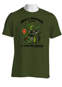 25th Infantry Division Jungle Master Cotton T-Shirt