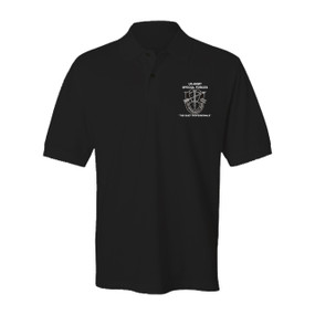 US Army Special Forces Embroidered Cotton Polo Shirt