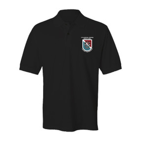 11th Special Forces Group Embroidered Cotton Polo Shirt