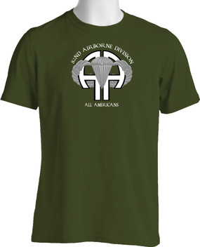 "82nd Airborne Division ""All Americans""  Cotton Shirt"