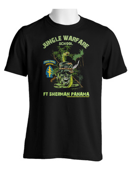 US Army Special Forces Jungle Master Cotton T-Shirt