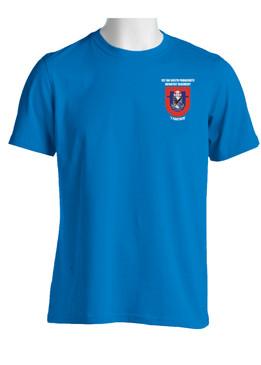 """1-505th Parachute Infantry Battalion """"Crest & Flash"""" (Pocket)  Cotton Shirt"""