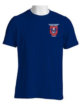 """3-505th Parachute Infantry Battalion  """"Crest & Flash"""" (Pocket)  Cotton Shirt"""