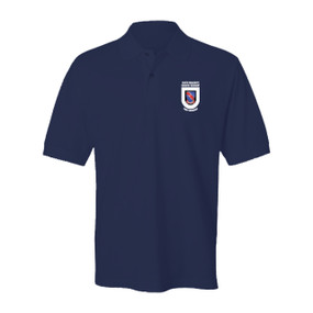 "508th Parachute Infantry Regiment  ""Crest & Flash""  Embroidered Cotton Polo Shirt"