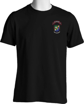 "3-75th Ranger Battalion ""New Flash"" (Pocket) Cotton Shirt"