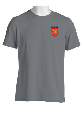 "3-319th Airborne Field Artillery Regiment ""Flash & Crest"" (Pocket) Moisture Wick Shirt"