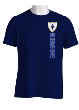 26th Infantry Regiment Sword of St Michael  Cotton Shirt