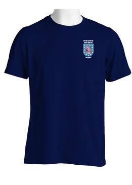 """1- 327th Infantry Regiment """"Crest & Flash""""  Cotton Shirt"""