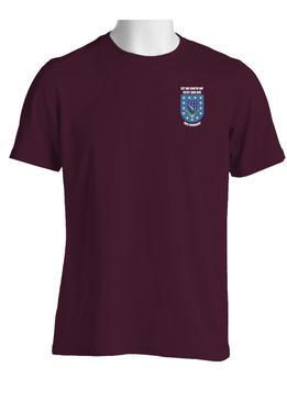 """1-506th Parachute Infantry Regiment """"Crest & Flash""""  Cotton Shirt"""