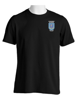 "1- 502nd Parachute Infantry Regiment ""Crest & Flash"" Cotton Shirt"