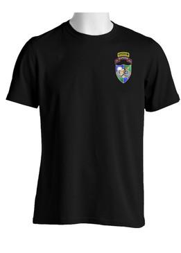 75th Ranger Regiment DUI  (Tan Beret) w/ Ranger Tab  Cotton Shirt