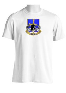 502nd Parachute  Infantry Regiment Skull & Beret (Chest) Moisture Wick