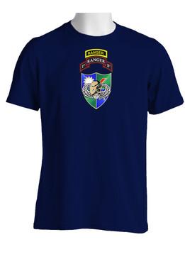 1-75 Ranger Battalion DUI-Tan Beret w/ Ranger Tab (Chest)  Cotton Shirt