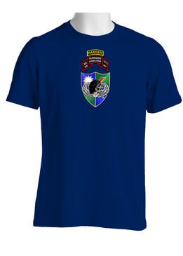 2-75 Ranger Battalion DUI-Original Scroll-Black Beret  w/ Ranger Tab(Chest)  Cotton Shirt