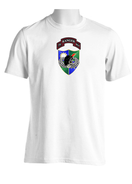 75th Ranger Regiment DUI-Black Beret (CHEST) Moisture Wick