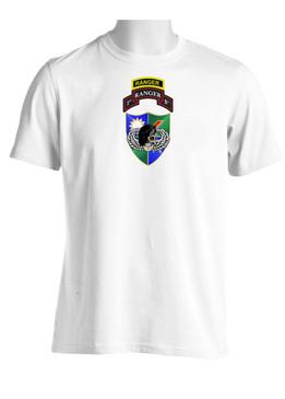 75th Ranger Regiment DUI (Black Beret) w/ Ranger Tab (CHEST) Moisture Wick