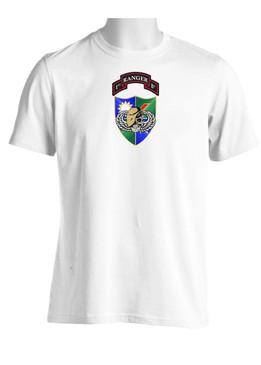75th Ranger Regiment DUI (Tan Beret) (CHEST) Moisture Wick