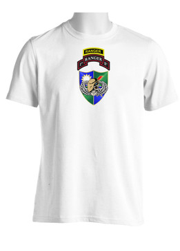 75th Ranger Regiment DUI (Tan Beret) w/ Ranger Tab(CHEST) Moisture Wick