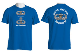 Support Your Local Paratrooper (CJ ) Cotton T-Shirt