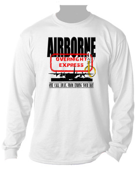 AIRBORNE -Overnight Express Long-Sleeve Moisture Wick