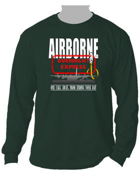 AIRBORNE-Overnight Express Long-Sleeve Cotton Shirt