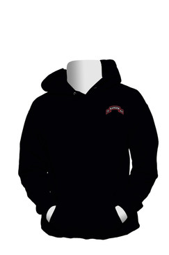 75th Ranger Regiment Embroidered Hooded Sweatshirt