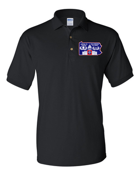 Central PA Chapter-  Embroidered Cotton Polo Shirt