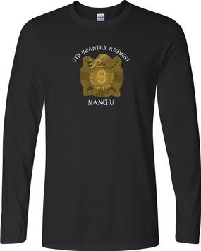 "9th Infantry Regiment ""MANCHUS""  Long-Sleeve Cotton Shirt (FF)"