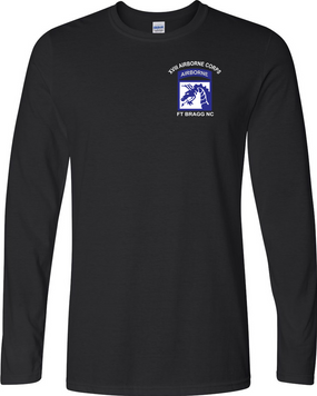 18th Airborne Corps  Long-Sleeve Cotton Shirt (P)