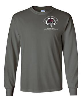 1-505th PIR Long-Sleeve Cotton Shirt (POCKET)