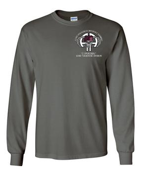 2-505th PIR Long-Sleeve Cotton Shirt (P)