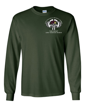 1-504th PIR Long-Sleeve Cotton Shirt (P)
