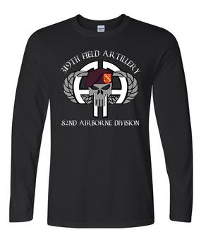 319th Airborne Field Artillery Regiment Long-Sleeve Cotton Shirt (FF)